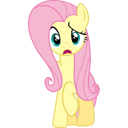 Fluttershy Pony - Sticker 5
