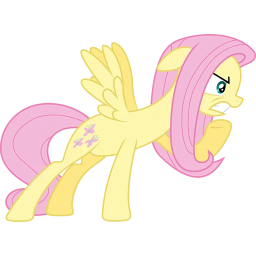 Fluttershy Pony - Sticker 7