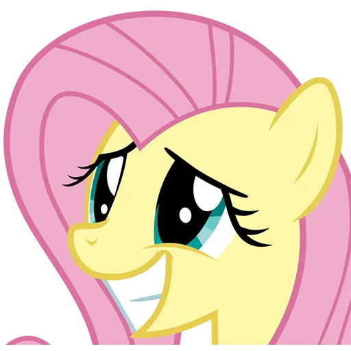 Fluttershy Pony - Sticker 24