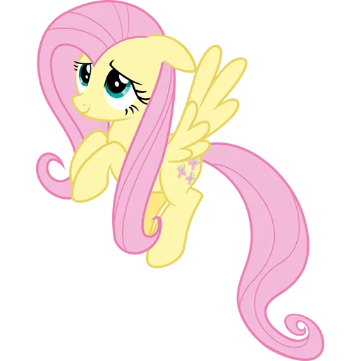 Fluttershy Pony - Sticker 11