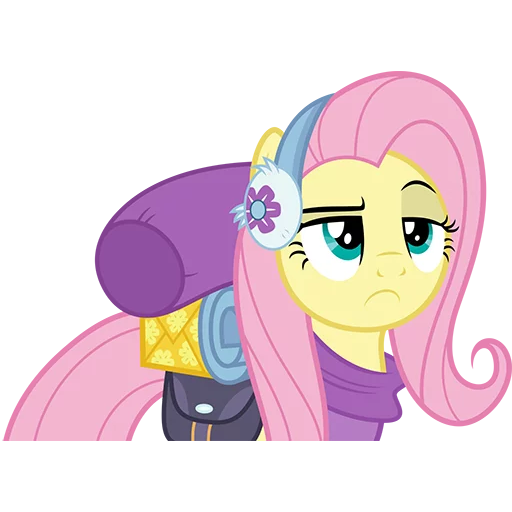 Fluttershy Pony - Sticker 29