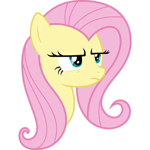 Fluttershy Pony - Sticker 21