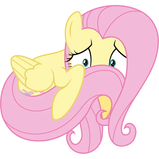 Fluttershy Pony - Sticker 28