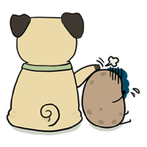 Kawaii Potato 2 - Sticker 23