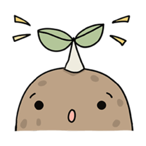 Kawaii Potato 2 - Sticker 21
