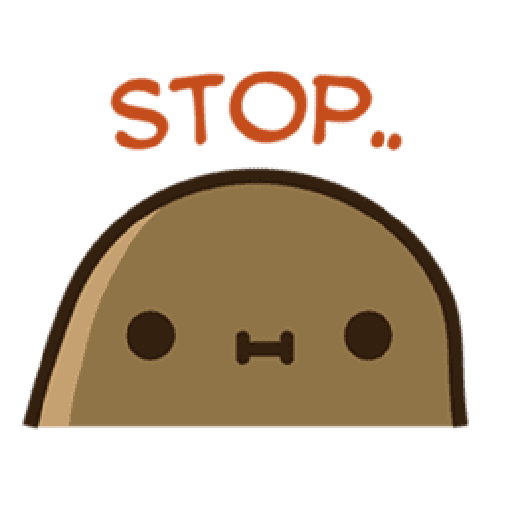 Kawaii Potato 2 - Sticker 14