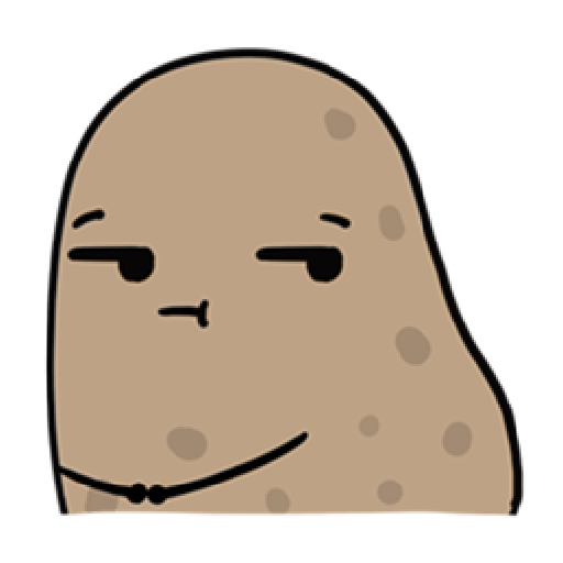Kawaii Potato 2 - Sticker 20