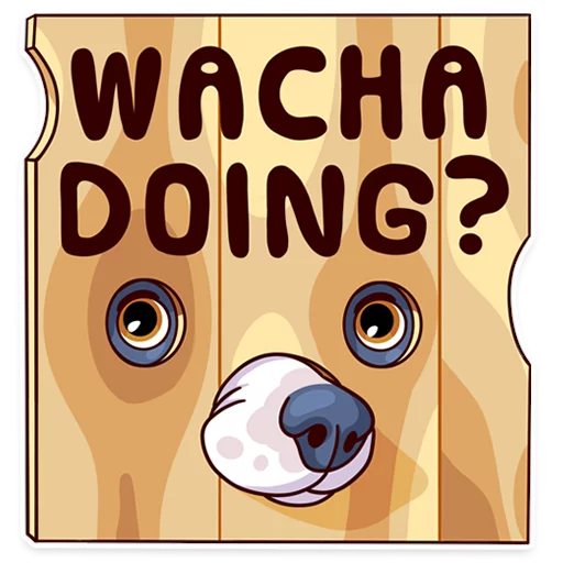 Moar Dogs - Sticker 1