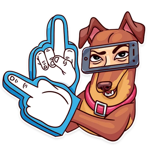 Moar Dogs - Sticker 14
