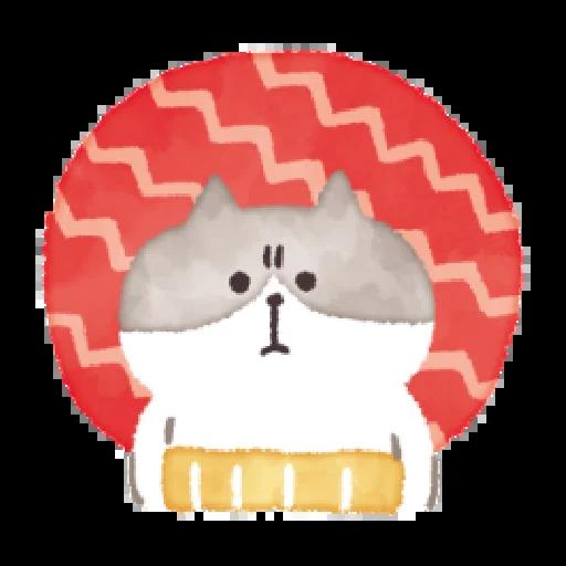 懶洋洋喵之助2 - Sticker 5