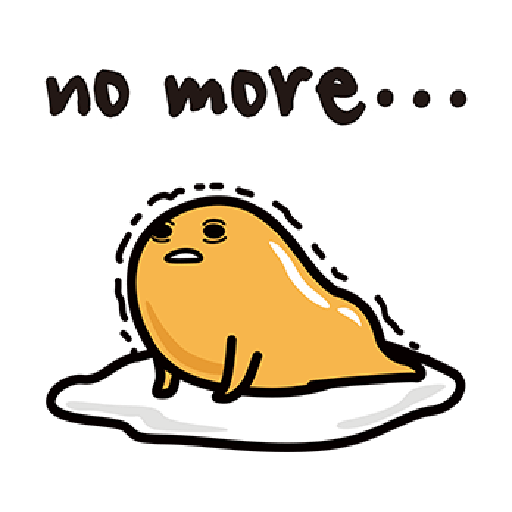 Gudetama - Sticker 30