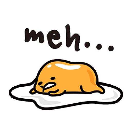 Gudetama - Sticker 27