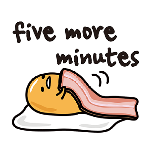 Gudetama - Sticker 3
