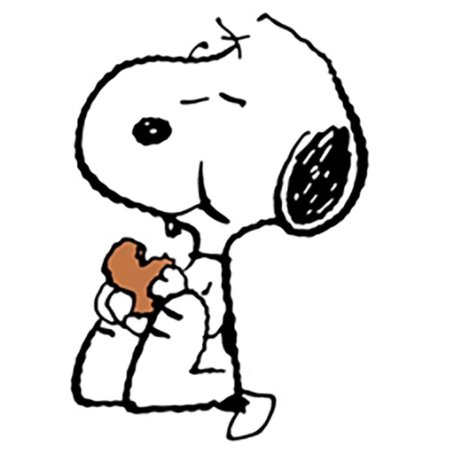 La linea & snoopy - Sticker 3