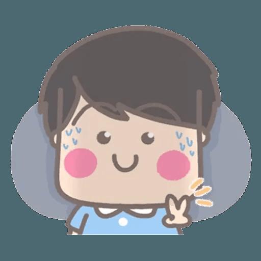 大大與小妹幸福冬季篇 1 - Sticker 5