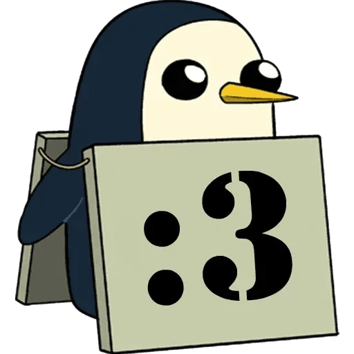Gunter - Tray Sticker