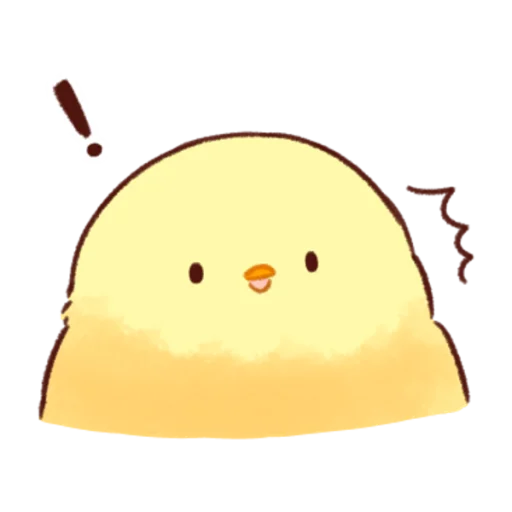 soft and cute chick 08 - Sticker 8