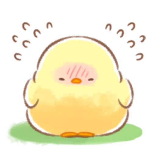 soft and cute chick 08 - Sticker 30