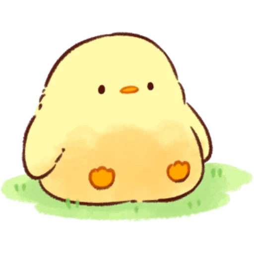 soft and cute chick 08 - Sticker 15