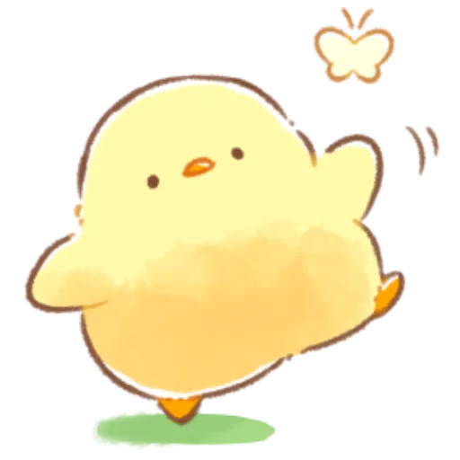soft and cute chick 08 - Sticker 16
