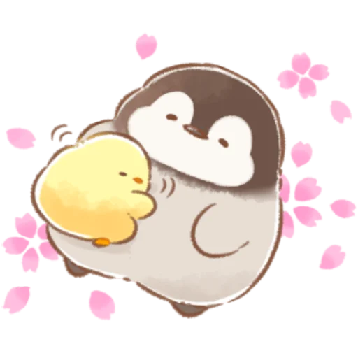 soft and cute chick 08 - Sticker 22
