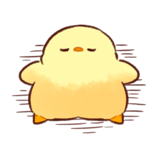 soft and cute chick 08 - Sticker 5