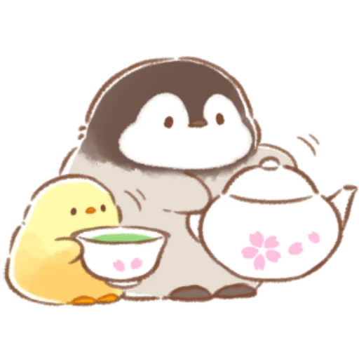 soft and cute chick 08 - Sticker 24