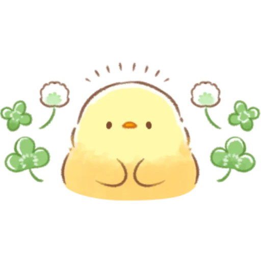 soft and cute chick 08 - Sticker 21
