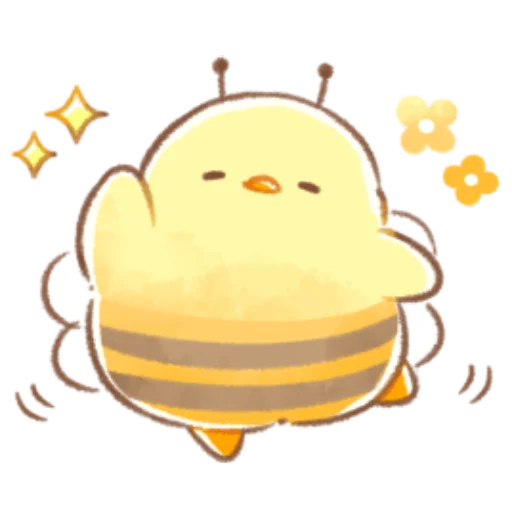 soft and cute chick 08 - Sticker 18