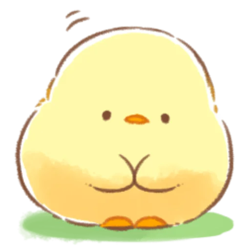 soft and cute chick 08 - Sticker 28