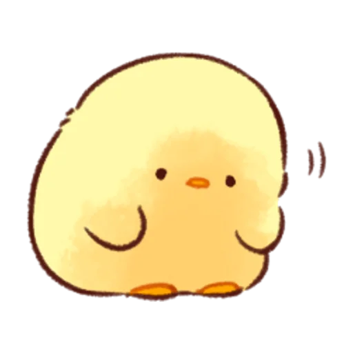 soft and cute chick 08 - Sticker 9
