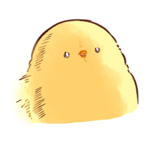 soft and cute chick 08 - Sticker 4