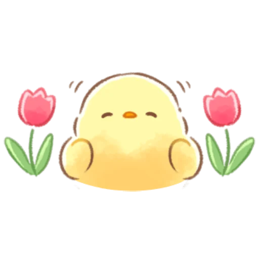 soft and cute chick 08 - Sticker 20
