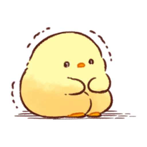 soft and cute chick 08 - Sticker 10
