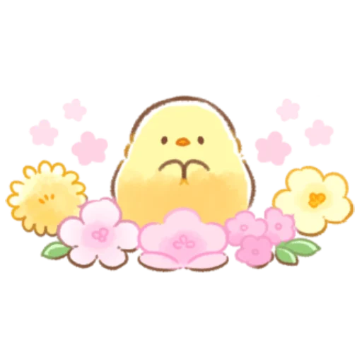 soft and cute chick 08 - Sticker 29