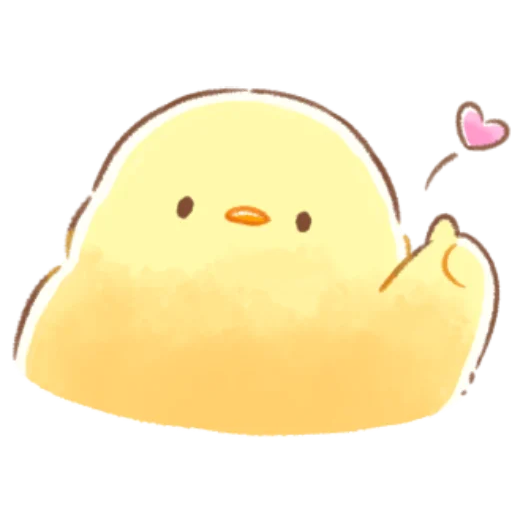 soft and cute chick 08 - Sticker 19