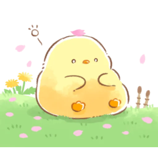 soft and cute chick 08 - Sticker 23