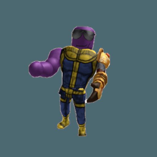 Roblox Thanos - Sticker 3