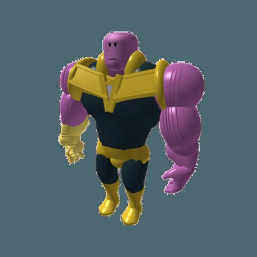 Roblox Thanos - Tray Sticker