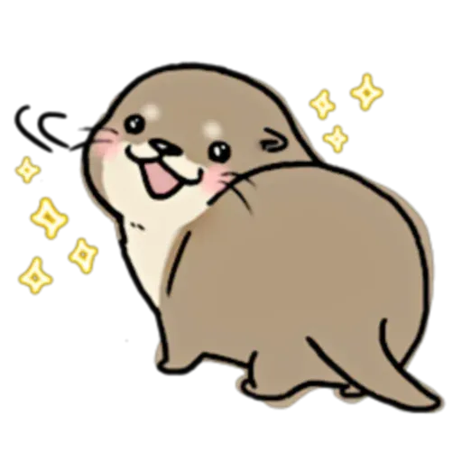 otter's otter3 - Sticker 3