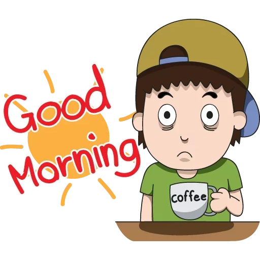 Goodmorning - Sticker 9