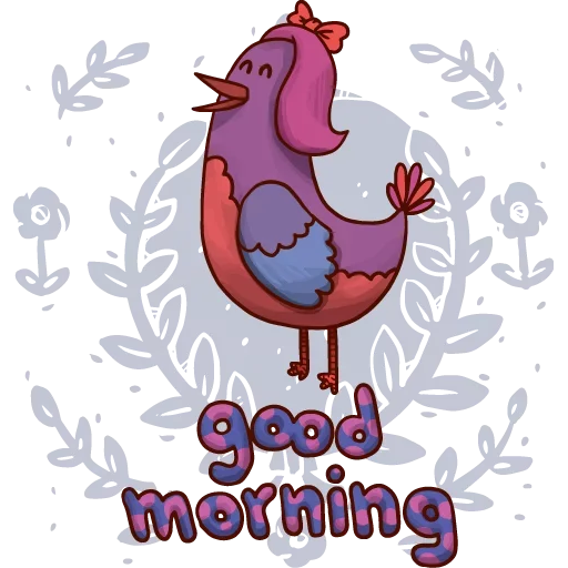 Goodmorning - Sticker 2