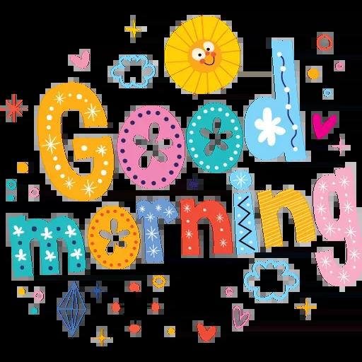 Goodmorning - Sticker 7