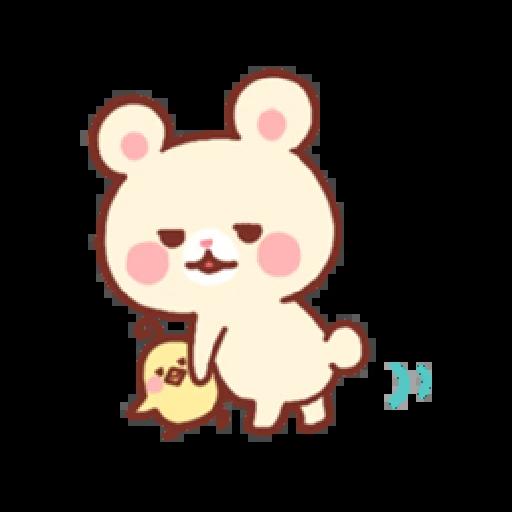 Bear & Bunny - Sticker 16