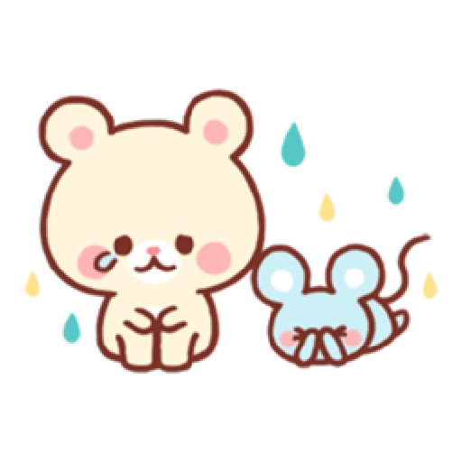 Bear & Bunny - Sticker 7