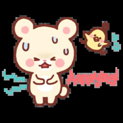Bear & Bunny - Sticker 15
