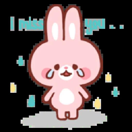 Bear & Bunny - Sticker 26