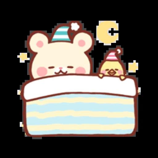 Bear & Bunny - Sticker 9