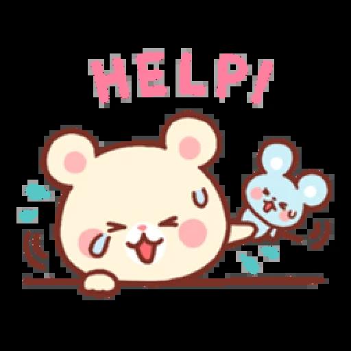 Bear & Bunny - Sticker 13