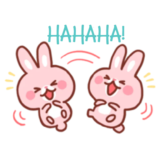 Bear & Bunny - Sticker 20